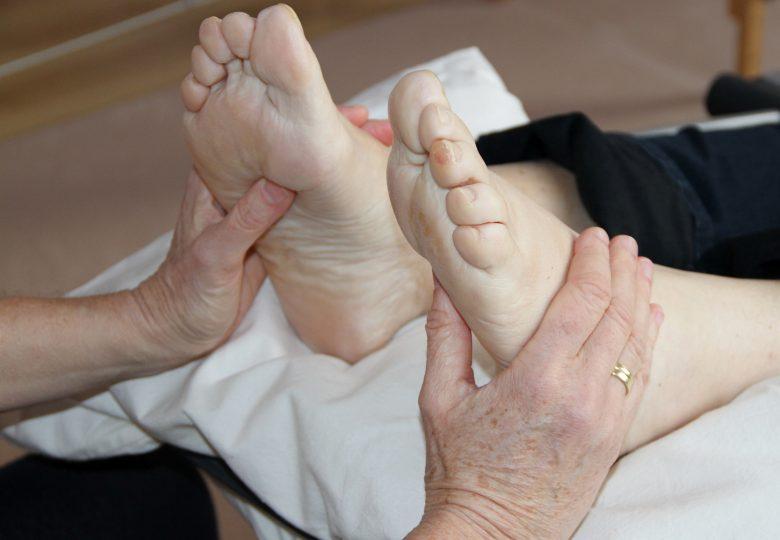 Klant voetreflex Hilde Van Acker